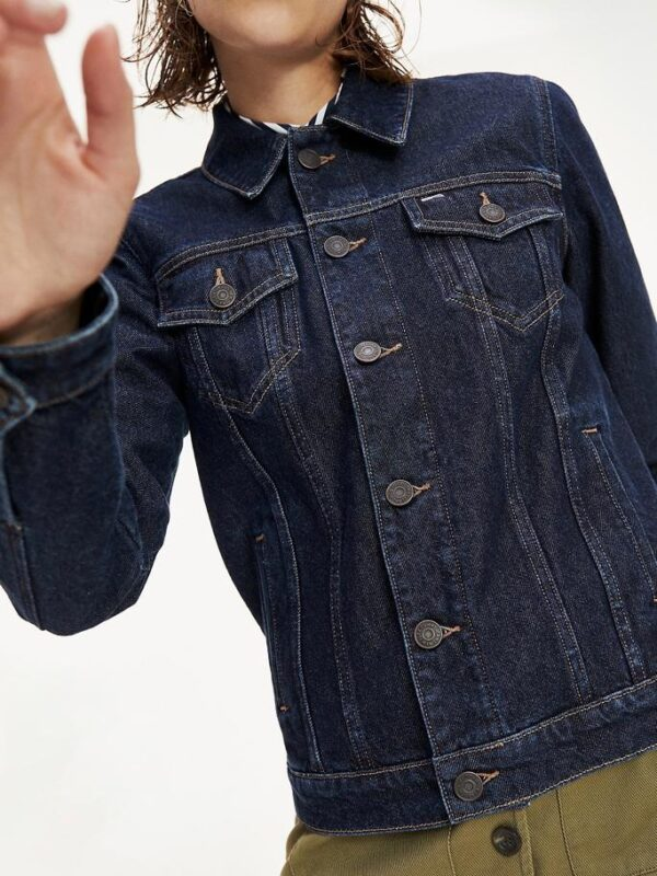 Giacca in Denim Scuro Tommy Jeans