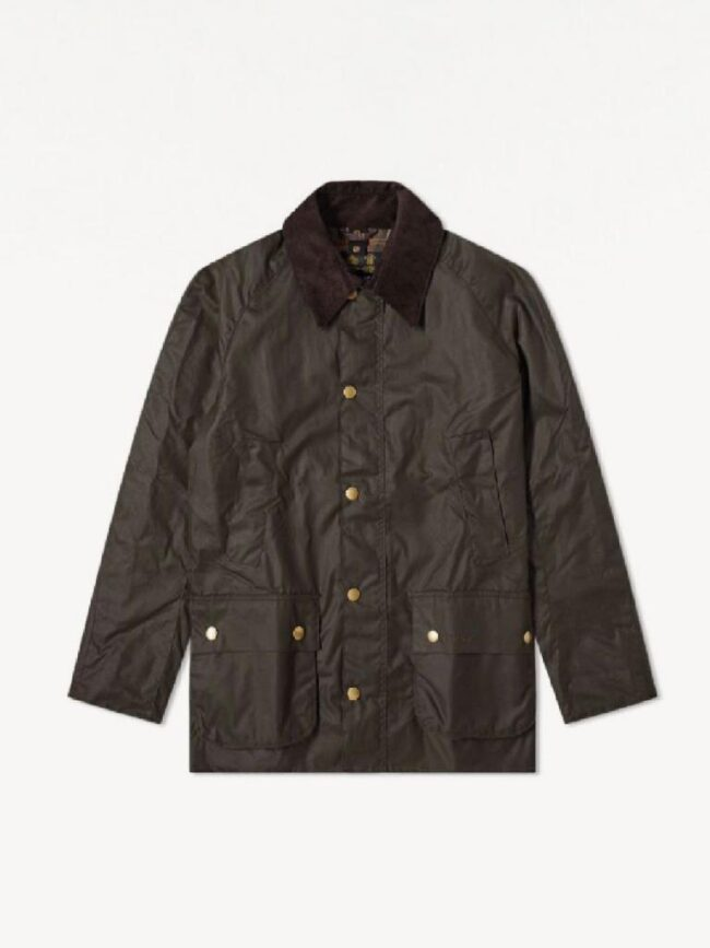 giacca verde ashby barbour