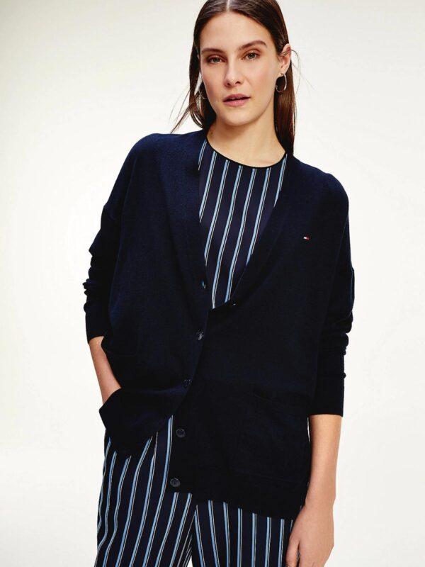 Cardigan Relaxed Fit Tommy Hilfiger