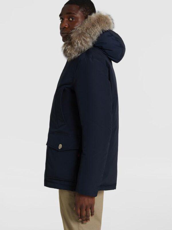 Arctic Blu Anorak Parka Woolrich