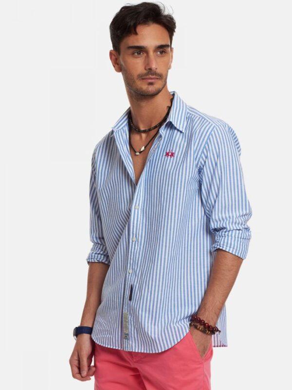 Camicia in misto Cotone e Lino La Martina