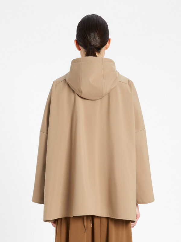 Parka Beige Relaxed Fit Max Mara