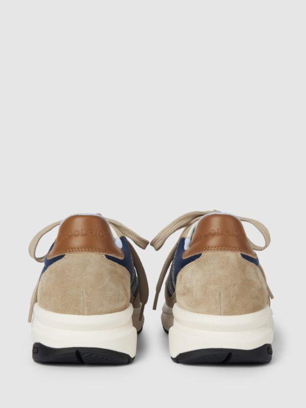 Sneakers Beige City Runner Woolrich