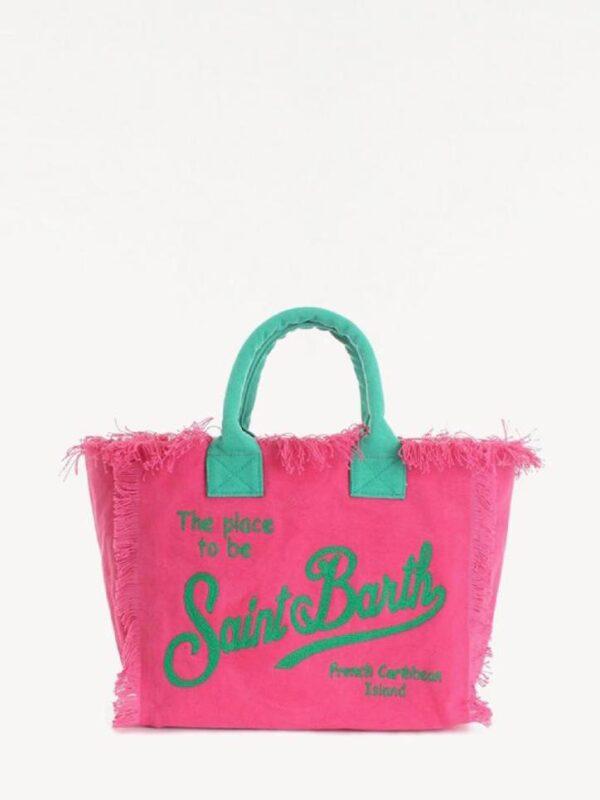 Borsa Mare Saint Barth Vanity Embry Pink Grande