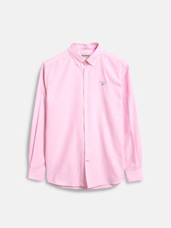 Camicia Rosa Oxford Barbour