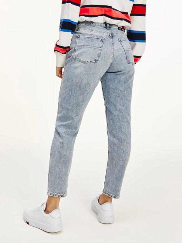Jeans Izzy Cropped Slim Fit Vita Alta Tommy Jeans
