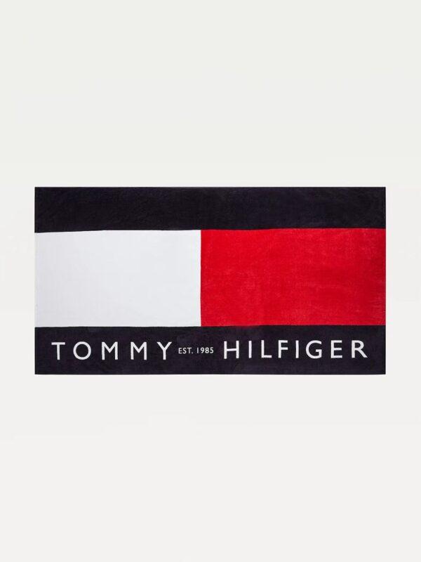 Telo Mare con Logo Tommy Hilfiger