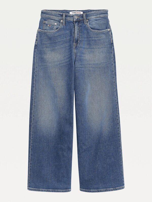 Jeans Cropped Meg a Vita Alta Tommy Jeans