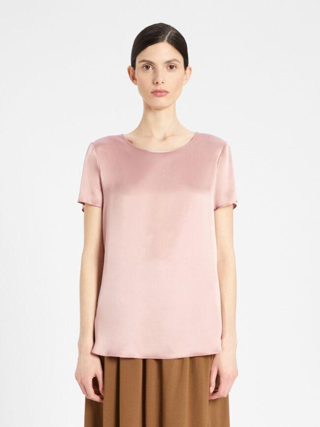 t-shirt rosa maxmara