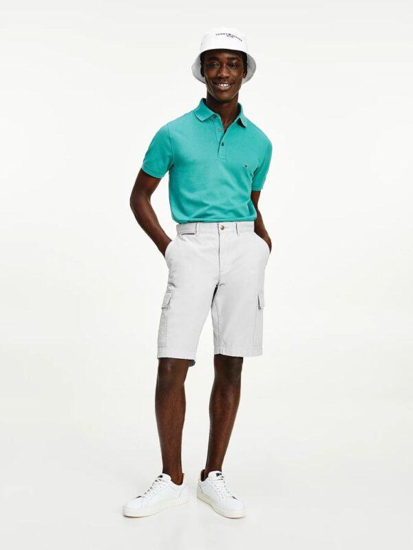 Polo Slim Fit Verde Tommy Hilfiger