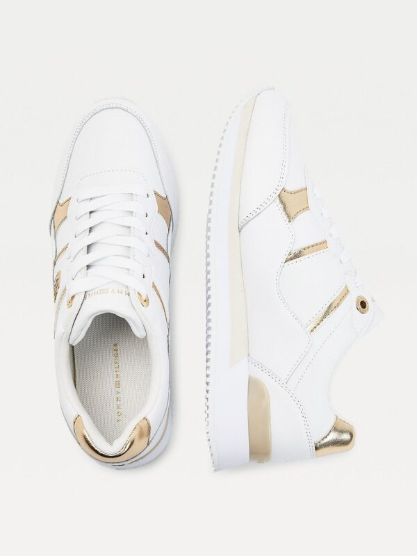 Sneakers Bianche in Pelle Tommy Hilfiger