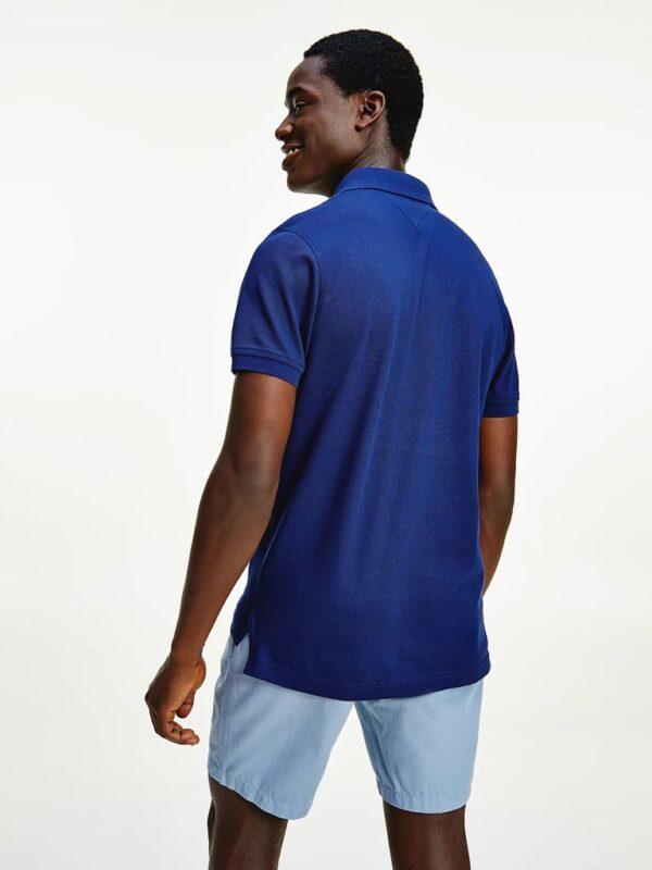 Polo Slim Fit Blu Tommy Hilfiger
