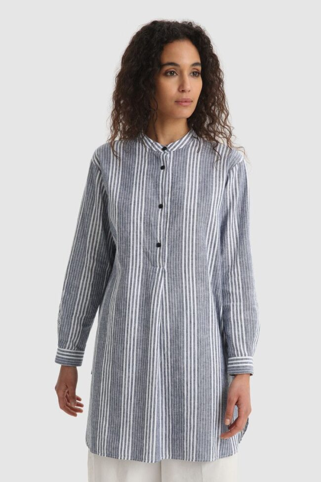 camicia lunga woolrich