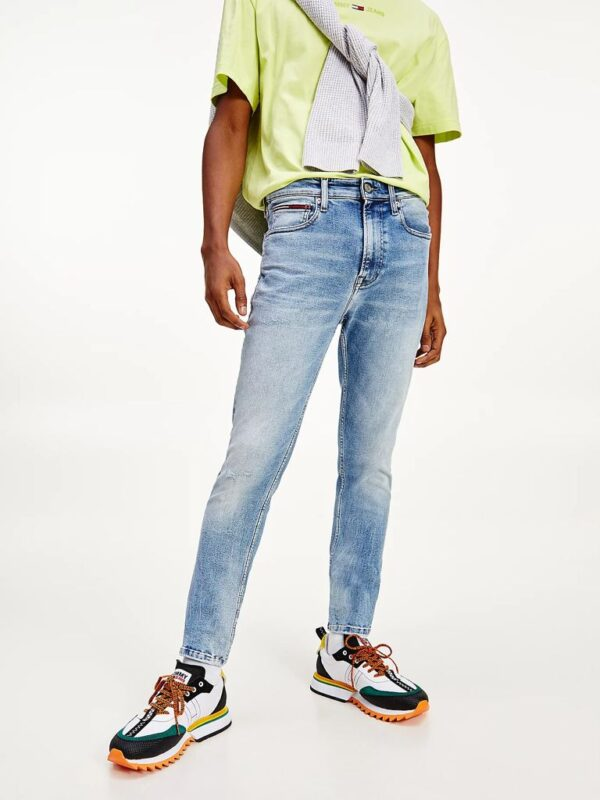 Jeans Chiari Skinny Fit Simon Tommy Jeans