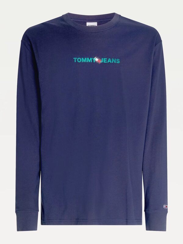 T-shirt a Manica Lunga Tommy Jeans