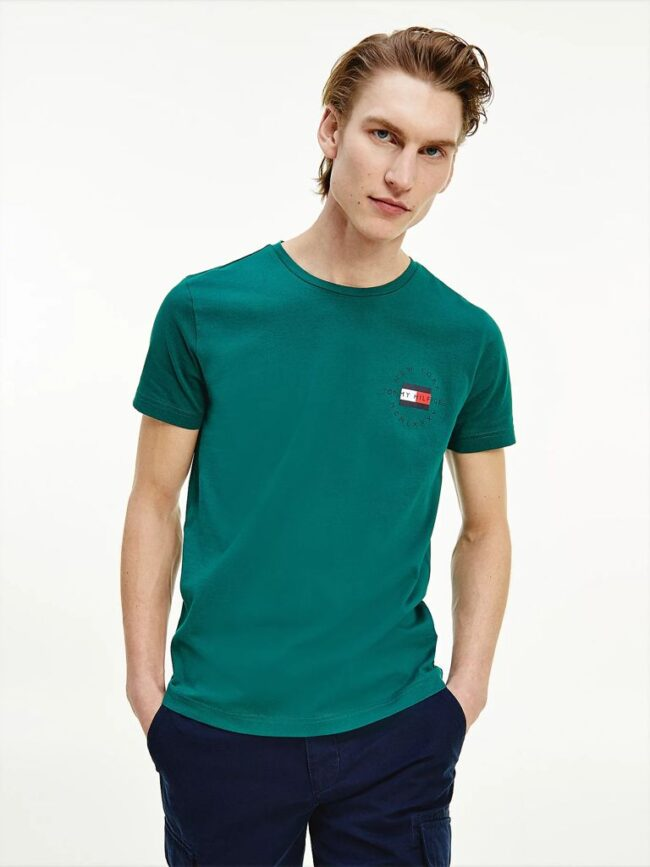 T-shirt Tommy Hilfiger Uomo in Cotone