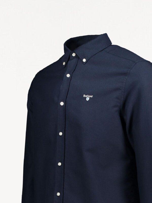 Camicia Blu Oxford Barbour