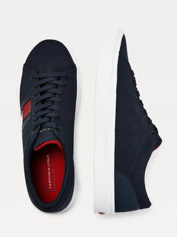 Sneakers Blu in Tessuto Leggero Tommy Hilfiger