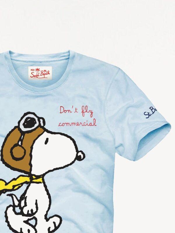 T-shirt Celeste Saint Barth ed. Snoopy
