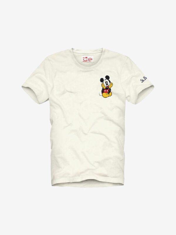 T-shirt Beige Saint Barth ed. Mickey Mouse