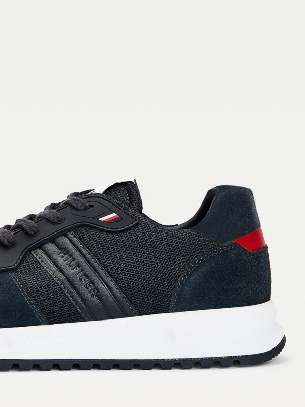 Sneakers Blu TH in Camoscio Tommy Hilfiger
