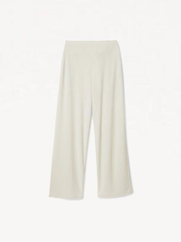 Pantaloni Culotte in Jersey Bianco Max Mara