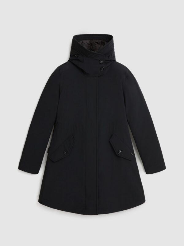 Military Parka Stretch 3 in 1 Nero Woolrich