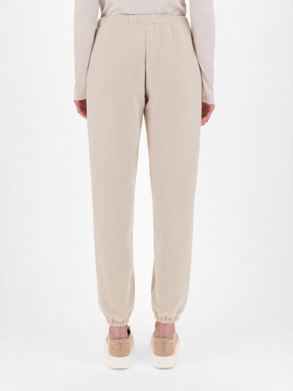 Pantaloni Beige in Felpa Max Mara