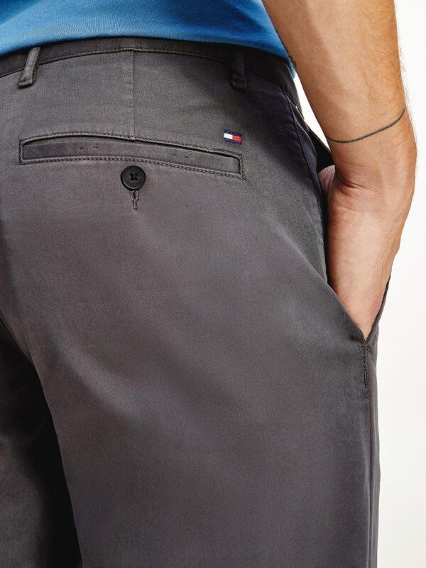 Pantaloni Chino Grigi Tommy Hilfiger