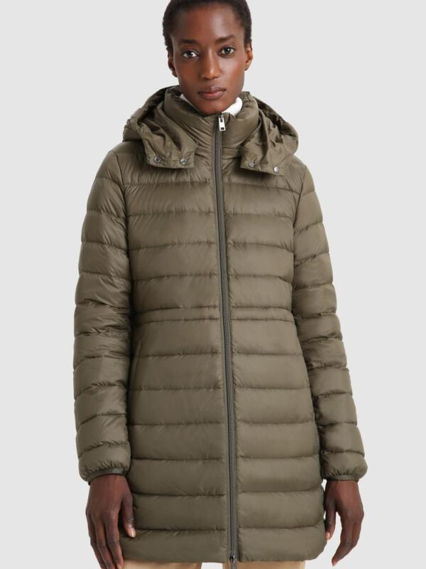 Military Parka Stretch 3 in 1 Verde Woolrich