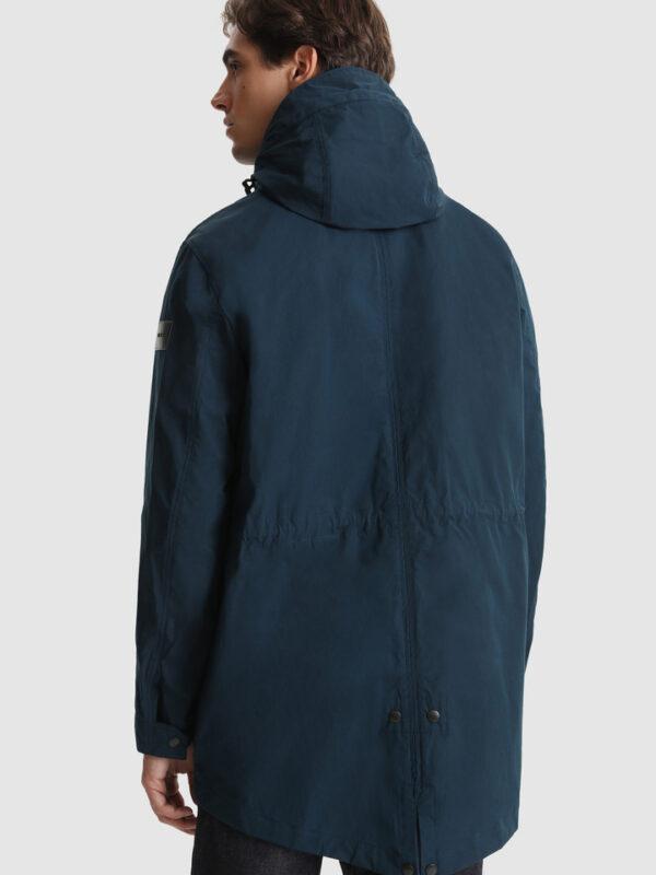 Cappotto Arrowood Blu 2 in 1 Woolrich