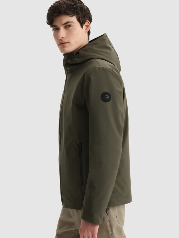 Giacca Verde Pacif in Shell Woolrich