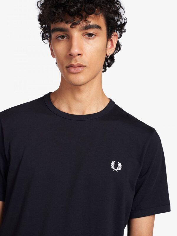 T-shirt Blu Ringer Fred Perry
