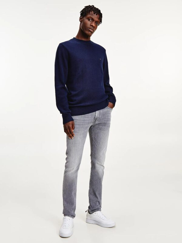 Pullover Blu in Maglia Grossa Tommy Hilfiger