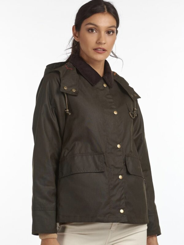 Giacca Avon Wax Olive Barbour