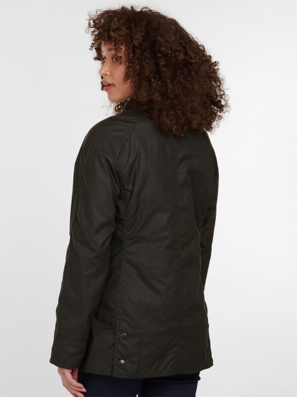 Giacca Olive Beadnell Wax Barbour
