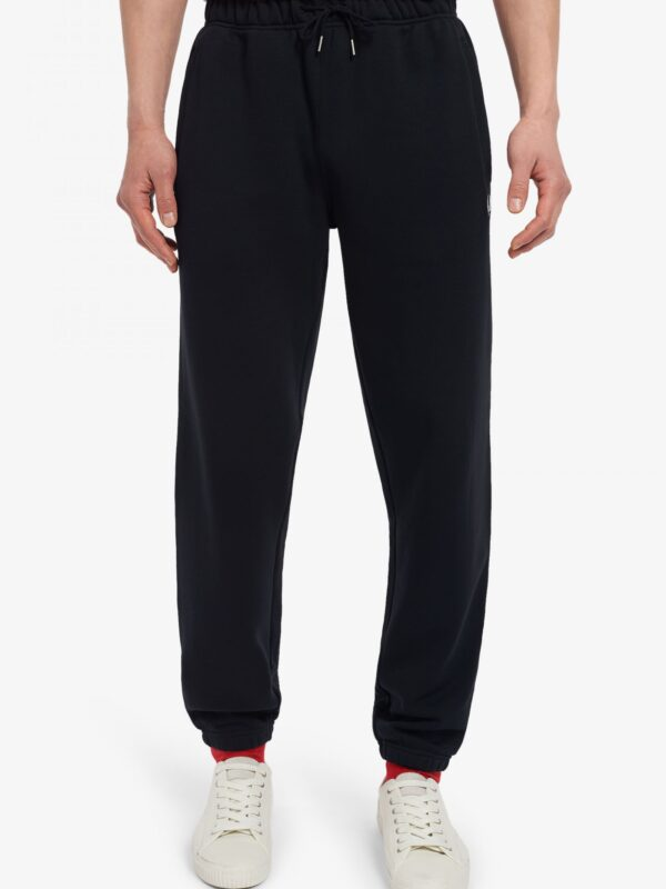 Pantaloni in Felpa Neri Fred Perry